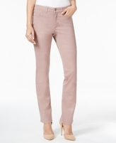 Charter Club Petite Straight-Leg Twill Pants, Created for Macy's