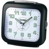 Casio TQ359/1 Analogue Wake-Up Timer Bell Alarm Clock, Black