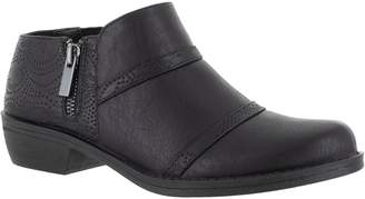 Easy Street Shoes Textured Side-Zip Comfort Shooties- Ira