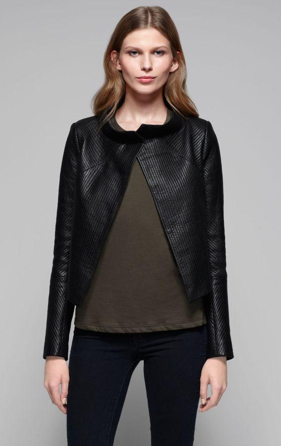 Theory Embry Leather Jacket