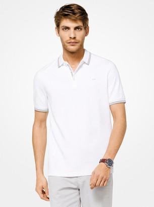 Michael Kors Greenwich Cotton Polo Shirt
