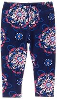 Gymboree Oxford Blue Exploded Snowflake Leggings - Infant & Toddler