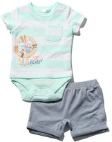 M&Co Lion bodysuit and shorts set