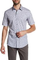 Zachary Prell Ketty Short Sleeve Print Woven Shirt