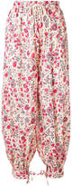Antik Batik floral-print harem trousers