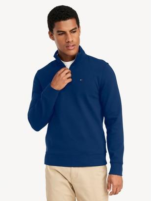 Tommy Hilfiger Essential Quarter Zip Mock Neck Sweatshirt