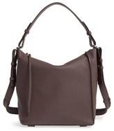 AllSaints 'Kita' Leather Shoulder/crossbody Bag - Purple
