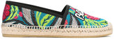 Gucci Blind for Love Pilar espadrilles - women - Raffia/Leather/Polyester/rubber - 37