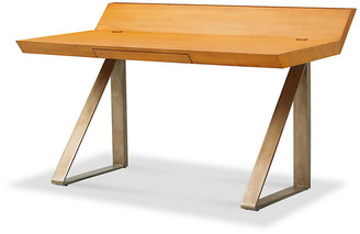 Bunny Williams Home Workhorse Wooden Desk - Natural