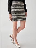 Great Plains Ula Stitch Mini Skirt, Multi
