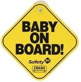 Safety 1st Baby On Board Foam Sign