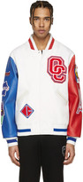 Opening Ceremony White France Global Varsity Jacket