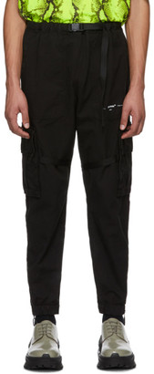 Off-White Black Parachute Cargo Pants