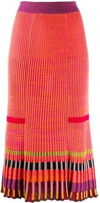 Kenzo Ribbed Skirt
