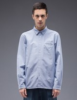 "Bedwin&the Heartbreakers Bedwin & The Heartbreakers ""Shaw"" Side Pocket L/S Oxford Shirt"