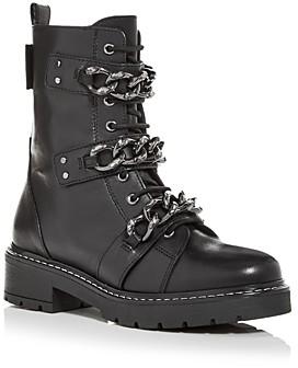 Kurt Geiger Women's Storm Combat Boots