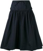 Jil Sander Navy woven skirt
