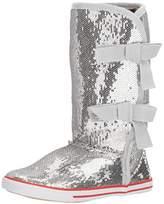 Volatile Girl's Shimmer Bow Sneaker Boot