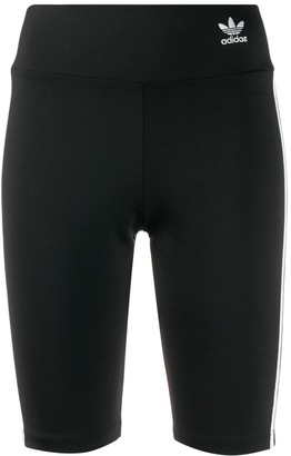 adidas Trefoil logo biker shorts