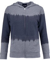 Monrow Ombré Stretch-Jersey Hooded Top