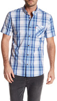 Levi's Bardley Short Sleeve Plaid Shirt