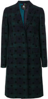 Paul Smith tartan button up coat
