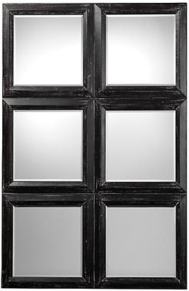 Jamie Young Yvette Wall Mirror - Dark Gray