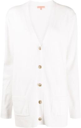 Ermanno Scervino side-slit V-neck cardigan