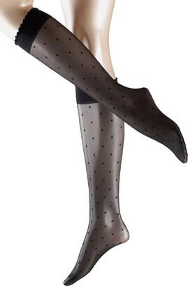 Falke Women's Dot Knee-High Sock