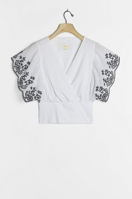 Maeve Tavi Embroidered Top