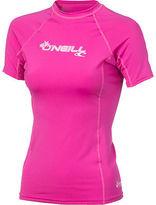 O'Neill Basic Skins Crew Rashguard - Short-Sleeve - Women's