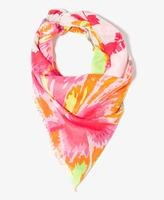 Forever 21 Vibrant Tropical Print Scarf