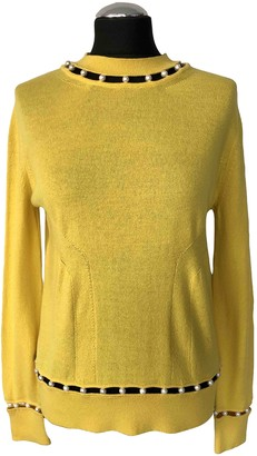 Givenchy Yellow Cashmere Knitwear