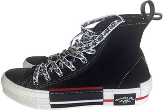 Christian Dior B23 Black Exotic leathers Trainers