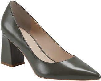 Marc Fisher Zala 15 Leather Point-Toe Pumps