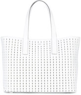 DKNY embroidered tote - women - Leather - One Size