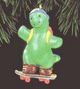 Hallmark QX5626 Son Dinosaur Skatboarding 1994 Keepsake Ornament