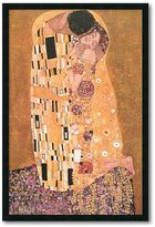 Amanti art ''The Kiss (Le Baiser / Il Baccio), 1907'' Framed Wall Art by Gustav Klimt
