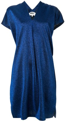 MM6 MAISON MARGIELA lurex shift dress