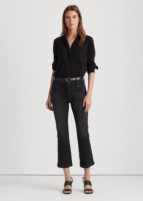 Ralph Lauren Stretch Classic Ankle Jean