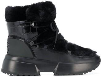 MICHAEL Michael Kors Cassia sherpa-trimmed snow boots