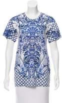 Roberto Cavalli Printed Short Sleeve T-Shirt