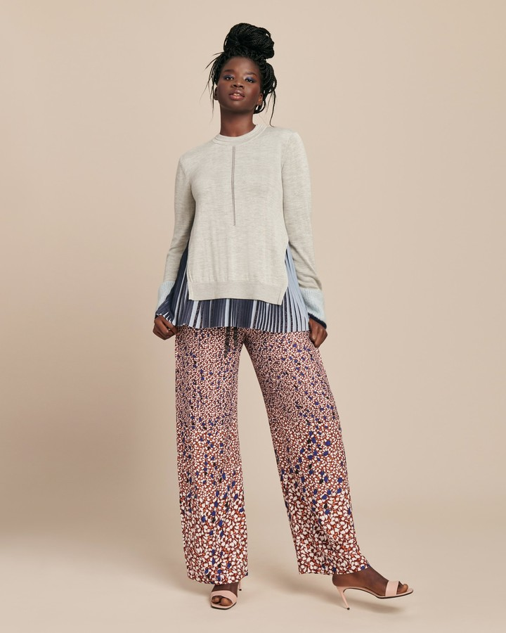 Yigal Azrouel Printed Track Pant
