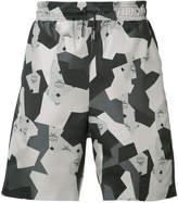 Christopher Raeburn geometric print shorts
