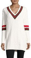 Mo & Co Knit V-Neck Sweater
