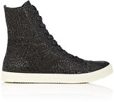 Rick Owens Men's Mastodon Textured Leather Sneaker Boots