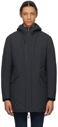 Herno Navy Down Parka Jacket