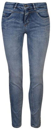 Oui Womens Sparkle Jeans