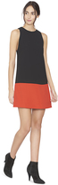Alice + Olivia Dorma Crew Neck Flared Dress