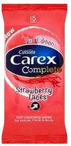 Carex Strawberry Laces Hand Wipes 15 s